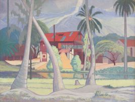 Jacob Hendrik Pierneef; Cinnamon Mill, Seychelles