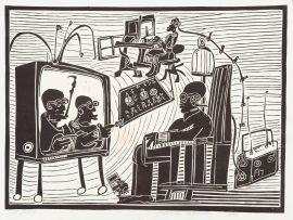 Azaria Mbatha; Interior Scene