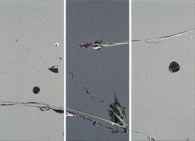 Zander Blom; Untitled 1.672, triptych