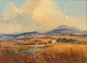 Gerrit Roon; Landscape with Farmhouse