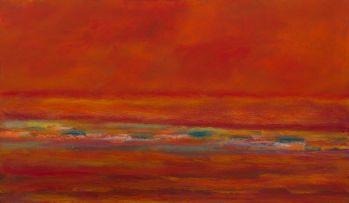 Herman van Nazareth; Red Landscape