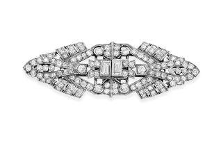 Pair of diamond dress clips