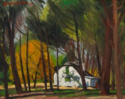 David Botha; Cottage in a Forest