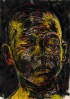 Nelson Makamo; Portrait in Yellow