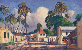 Jacob Hendrik Pierneef; Dar es Salaam