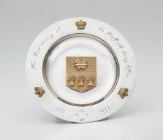 An Elizabeth II silver and silver-gilt Limited Edition Sheffield Assay Office Bi-Centenary dish, Mappin & Webb Ltd, Sheffield, 1973