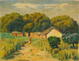 Moses Tladi; Farm Cottage Driefontein, J.H.B.