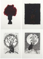 Peter Schütz; Tree Stool, Constellation Stool, Terrestrial Things, A Bird among Birds (4)
