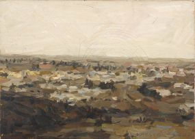 Anton Karstel; Landscape