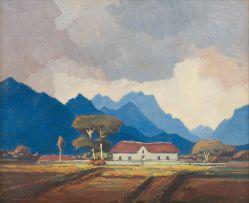 Jacob Hendrik Pierneef; Boereplaas, Wellington, Kaap