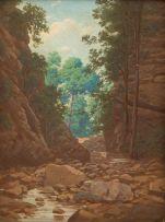 Jan Ernst Abraham Volschenk; The Gorge, Rust en Vrede (Oudtshoorn)