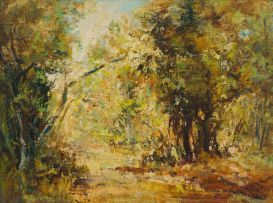 Ruth Squibb; Forest Landscape