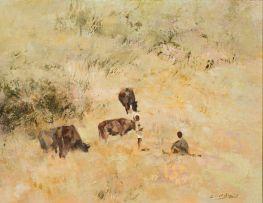 Errol Boyley; Herdboys with Cattle