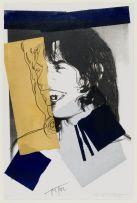 Andy Warhol; Mick Jagger