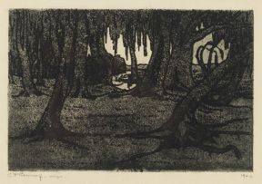 Jacob Hendrik Pierneef; Tree Roots
