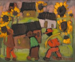 Frans Claerhout; Village of Sunflowers