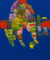 Walter Battiss; Karoo Nude