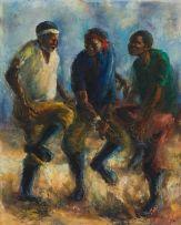 Durant Sihlali; Gumboot Dancers