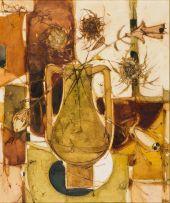 Aileen Lipkin; Flowers in a Vase