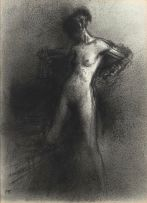 Paul Emsley; Standing Nude