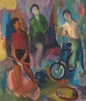 Kenneth Baker; Three Boys