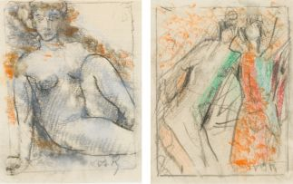 Gunther van der Reis; Nude; Two Figures, two