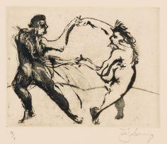 William Kentridge; Dancing Couple