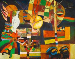 Speelman Mahlangu; Abstract with Dove