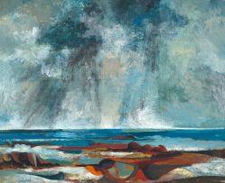 Cecil Skotnes; Storm over Camps Bay