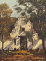 Tinus de Jongh; Cape Dutch Homestead