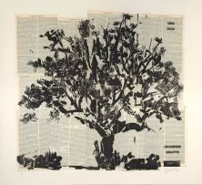 William Kentridge; Universal Archive (Big Tree)