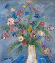 Kenneth Baker; Still Life with Flowers