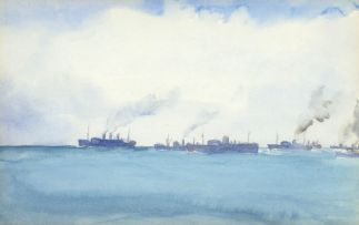 Francis Murray Russell Flint; Very Bad Attempt at Convoy