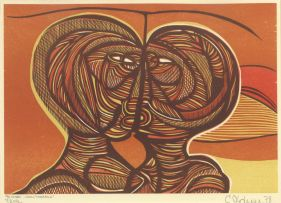 Cecil Skotnes; The Lovers - from 'Man's Gold'