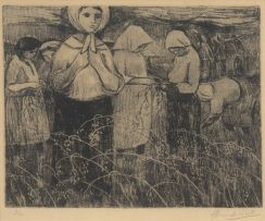 Eleanor Esmonde-White; Women Harvesting