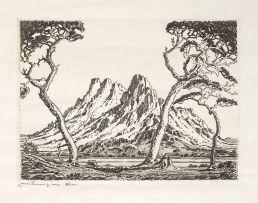 Jacob Hendrik Pierneef; Okahandjaberg