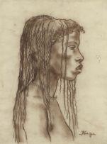 François Krige; Portrait of a Barakwena Girl
