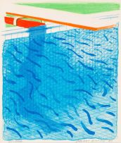 David Hockney; Paper Pools