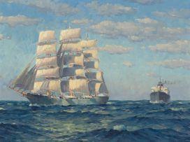 Nils Andersen; Ships at Sea