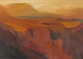 Aleksanders Klopcanovs; Desert Landscape
