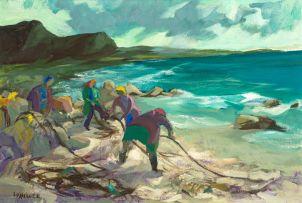 Marjorie Wallace; Gathering Kelp