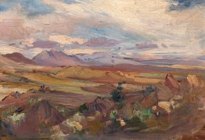 Hugo Naudé; Mountains near Worcester