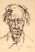 Gregoire Boonzaier; Self Portrait