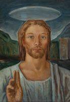 Armando Baldinelli; Portrait of Christ