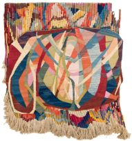 Elizabeth Slaughter; Abstract Composition, tapestry