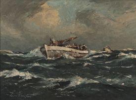 George William Pilkington; Choppy Seas