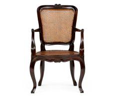 A Cape Louis XV style stinkwood armchair, circa 1770