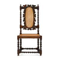 A Cape Van der Stel stinkwood side chair, first quarter 18th century