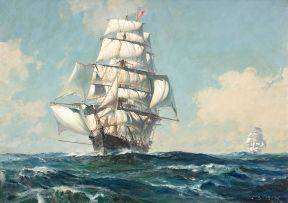 John Stobart; Under Full Sail