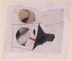 Julius Bissier; Untitled